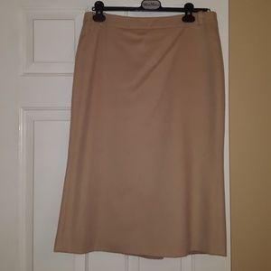 MaxMara camel hair skirt